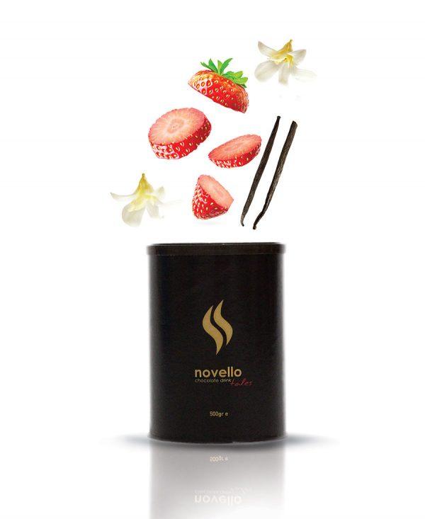 Αρωματική Σοκολάτα Φράουλα - Βανίλια