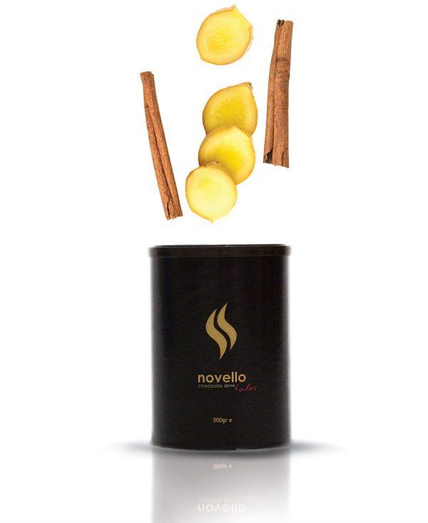 Αρωματική Σοκολάτα Τζίντζερ - Κανέλα