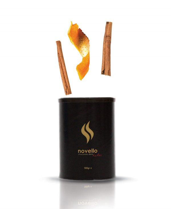 Αρωματική Σοκολάτα Πορτοκάλι - Κανέλα