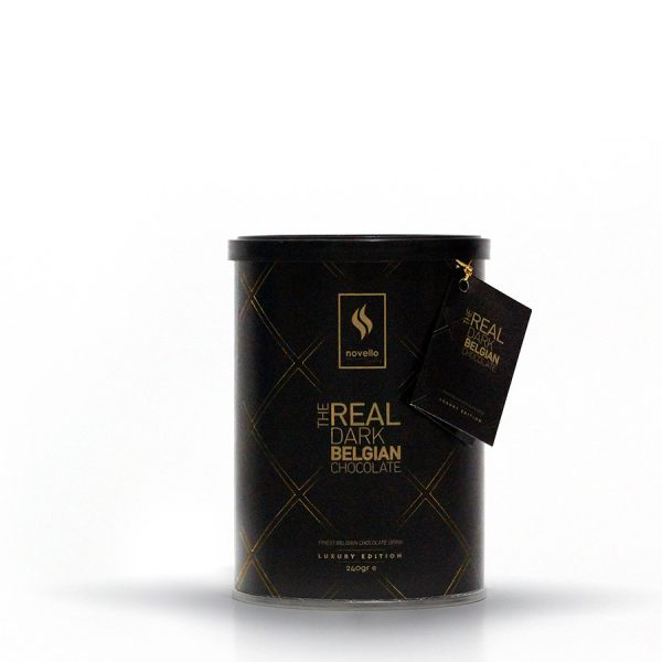 Real Dark Belgian Chocolate Novello